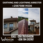 Electrical Earthing and Lightning Arrester Installation in Kampala